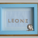 3D Baby Art Metal Name and Statue Gold Plated