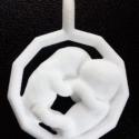 3D Baby Jewel Test model in Nylon TWINS