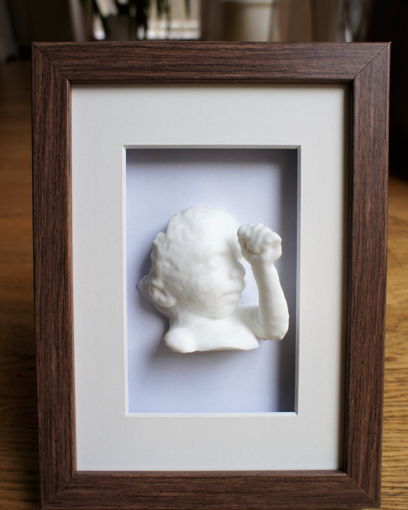 3D baby model with photo frame nylon